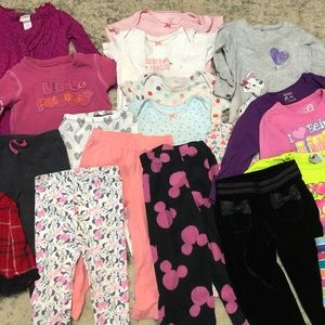 5lbs girls 24 month clothing lot